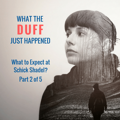 what the duff just happened - ten day treatment - what to expect at schick shadel hospital - sleepys and duffys - aversion therapy - counter conditioning