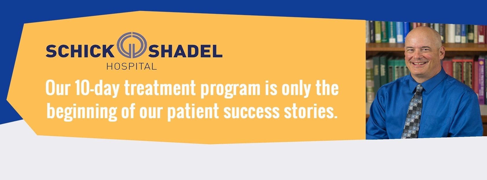 Our ten-day treatment program is only the beginning of our patient success stories.